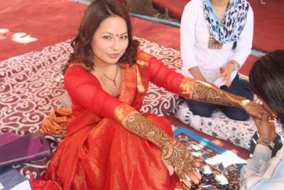 Malvika Subba Marries Riyaz Shrestha