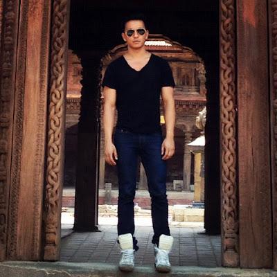 Prabal Gurung in Kathmandu. April 2012.