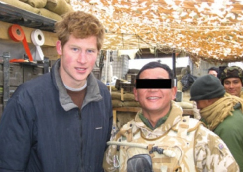 The Gurkha Soldier with Prince Harry