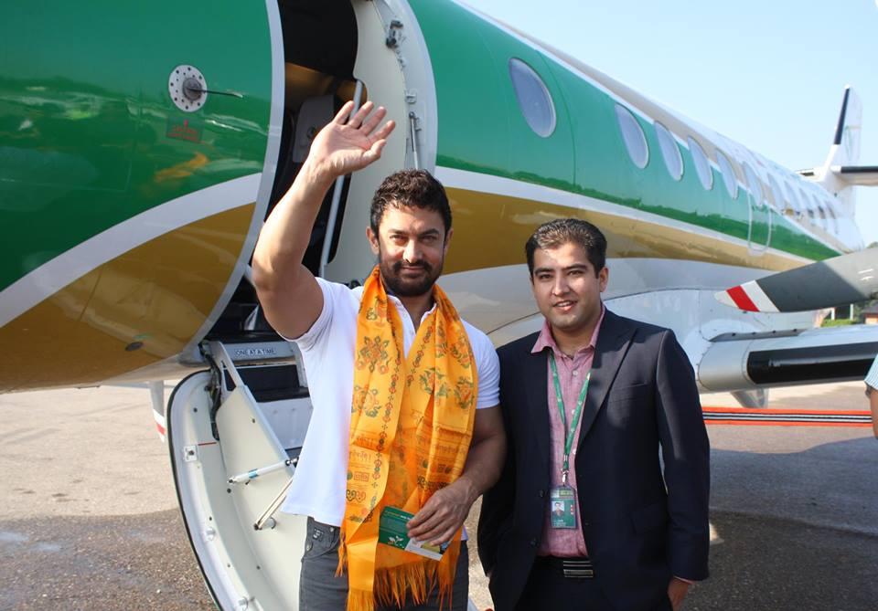 Aamir Khan On a UNICEF Trip to Nepal   Lexlimbu