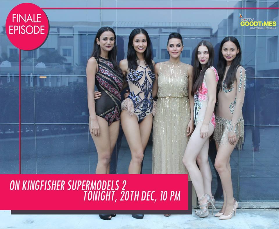 Neha Dhupia and the Kingfisher Models!