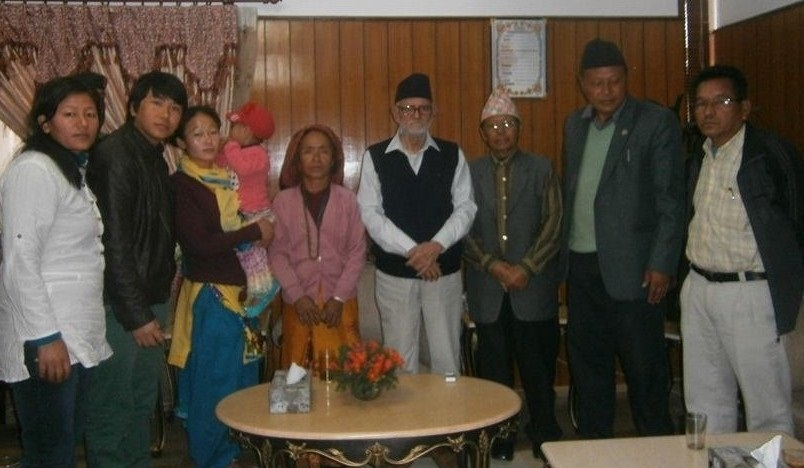 With the PM of Nepal - Sushil Koirala.