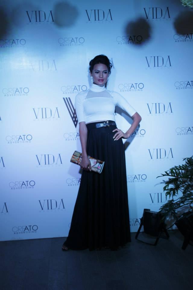 Model Anjali Lama.