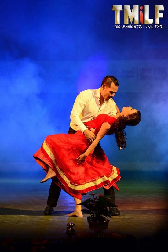 Anoop Bikram Shahi and Malina Joshi