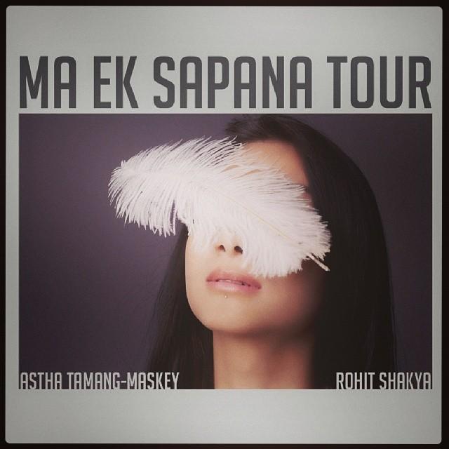 Astha Tamang Maskey MA EK SAPANA Rohit Shakya Tour