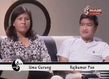 Uma and Rajkumar of Baby Life Home on Black & White - Image Channel.