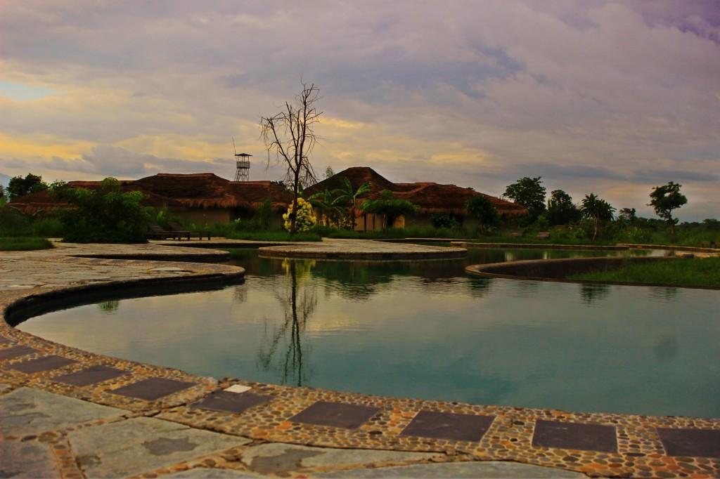 Swimming pool and beyond.