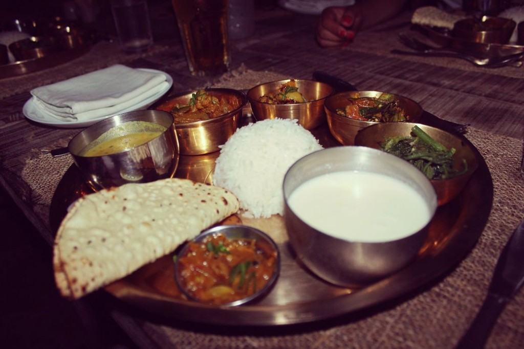 You can never go wrong with a Nepali Thali