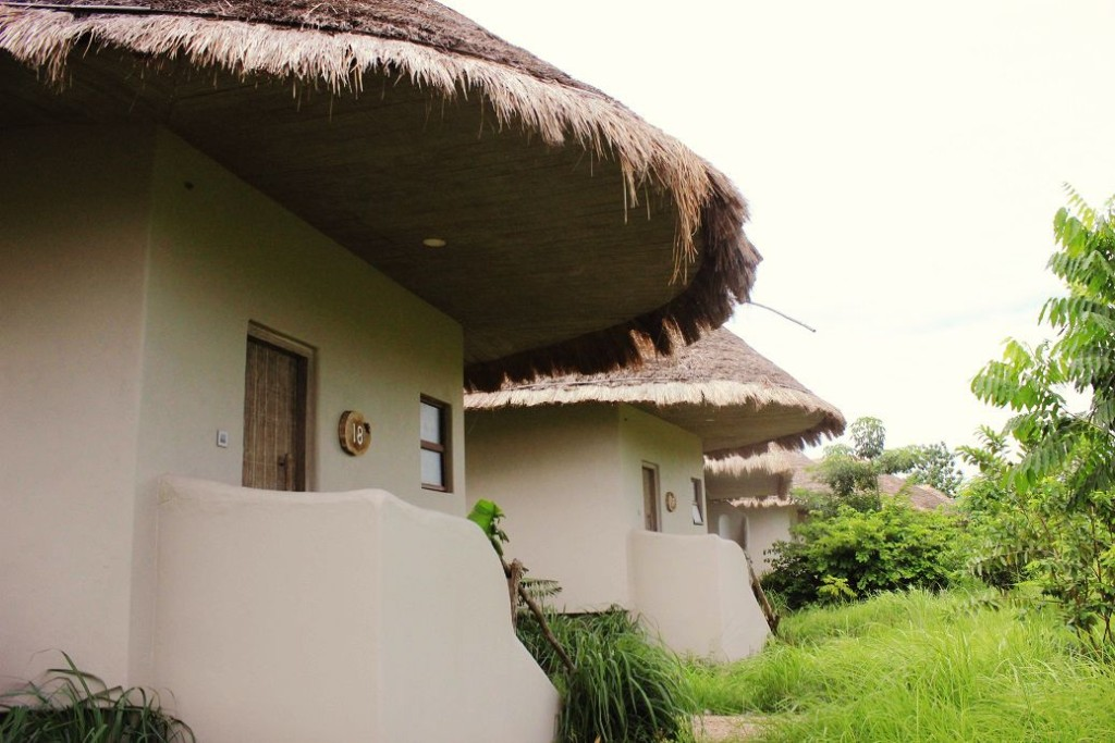 The huts - our rooms!