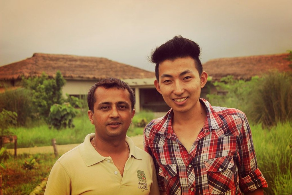 Pradip Ji of Barahi Jungle Lodge. Thank you so much for the amazing hospitality and service.