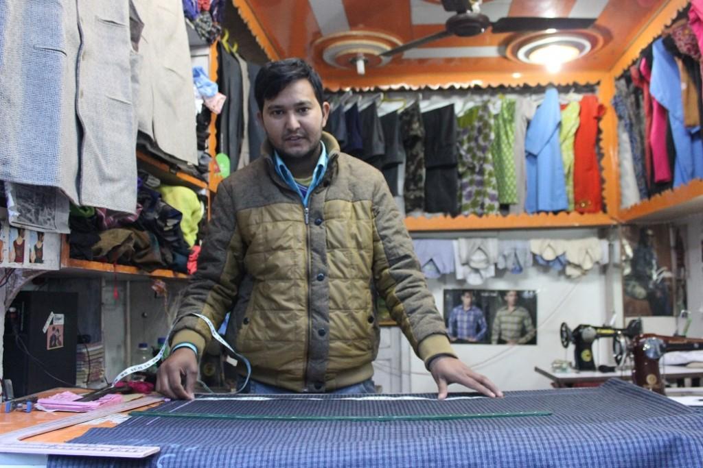Micro-entrepreneur Bupendra Sinal