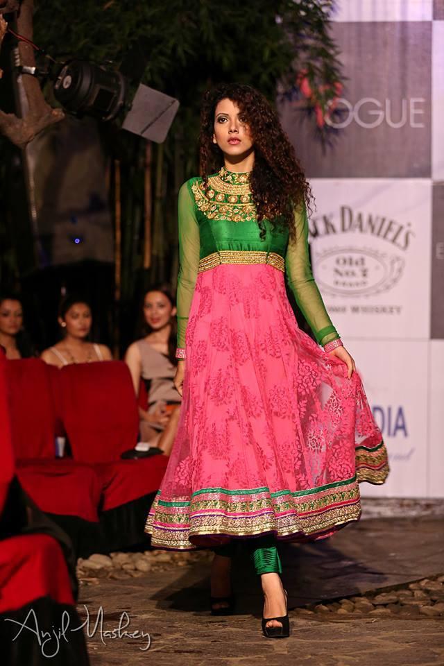 Bidhatri Pokhrel at Face of House of Fashion