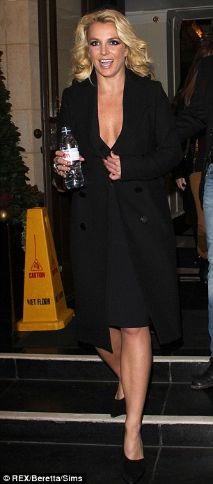Britney Spears Leaving Alan Carr Chattyman Taping