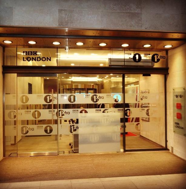 BBC Radio 1 Entrance