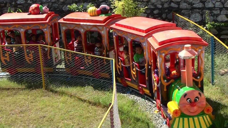 ChaCha Whee Fun Park Nepal Train