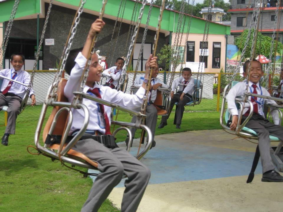 ChaCha Whee Fun Park Swings