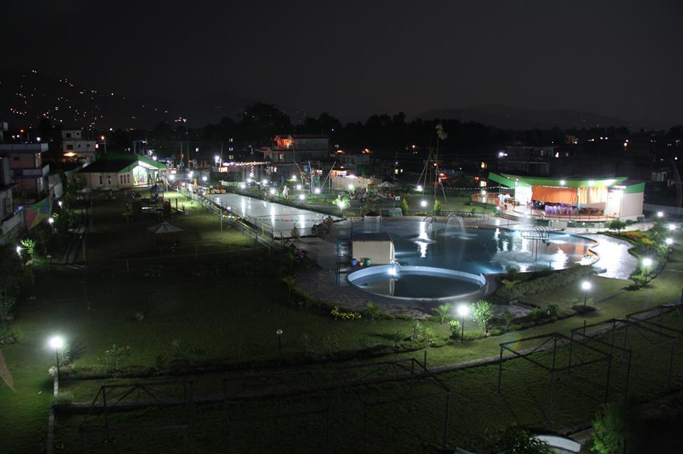 ChaChaWhee Fun Park Pokhara Evening