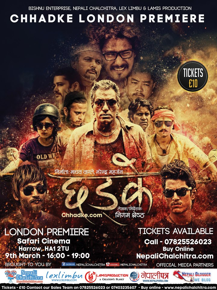 Chhadke London Poster
