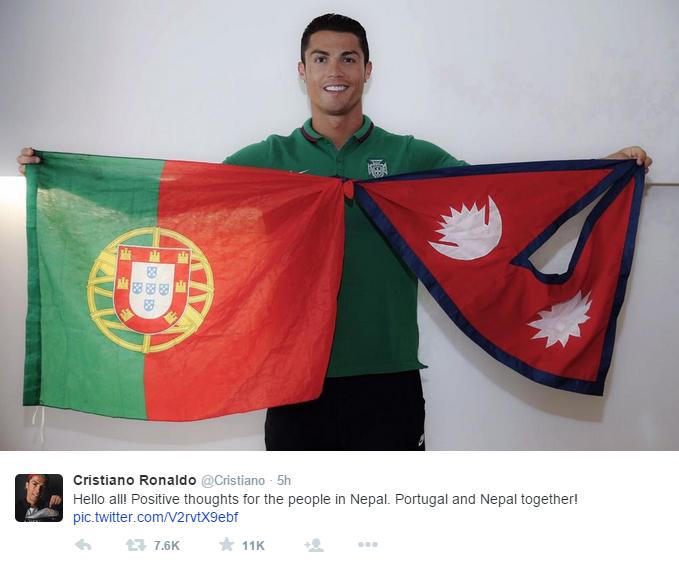 Cristiano-Ronaldo-Nepal-Earthquake