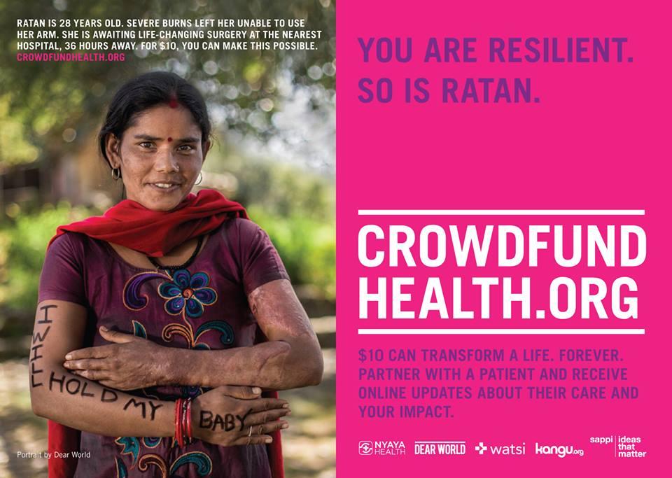 Crowdfund Health Nepal