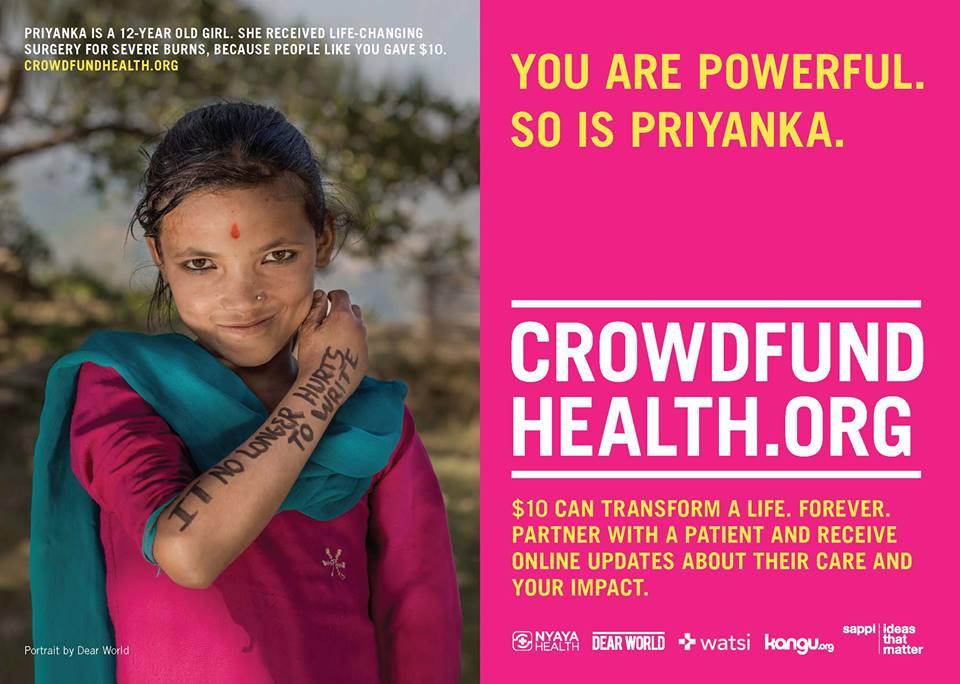 Crowndfund Health Nepal 2