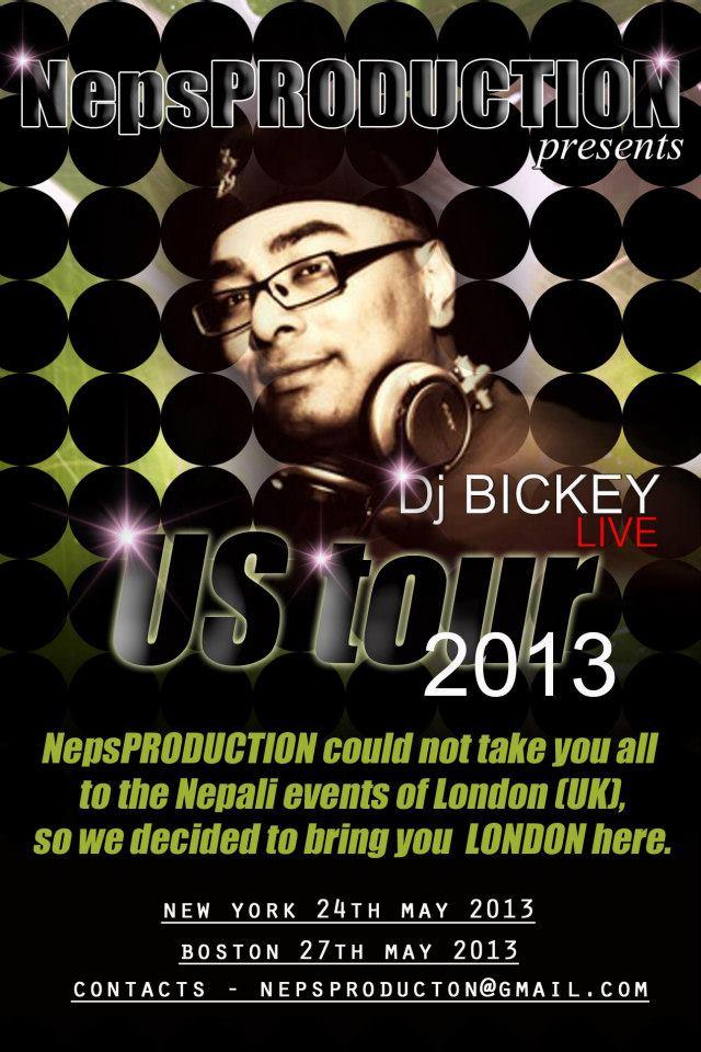 DJ BICKEY US TOUR