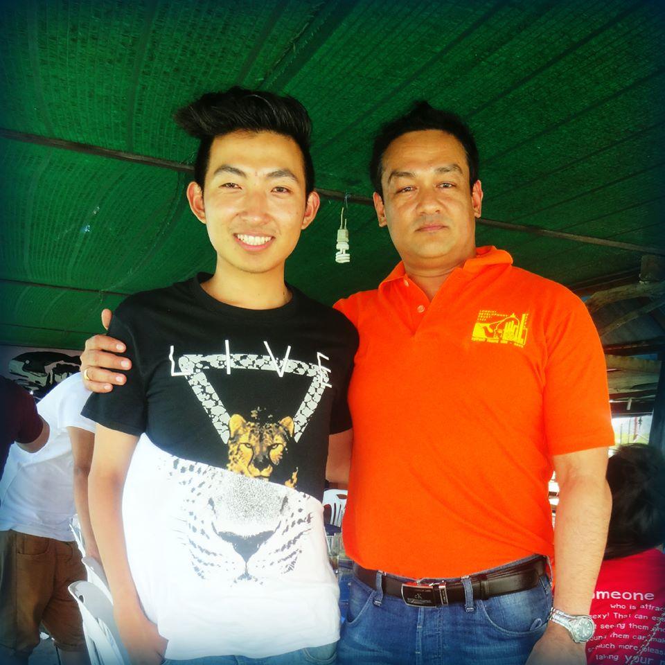 With Daeng Limbu, Phuket