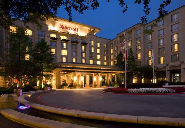 Marriott Hotel in Dallas, USA.