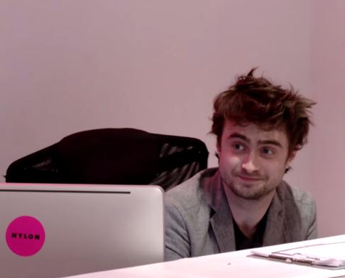 Receptionist : Daniel Radcliffe
