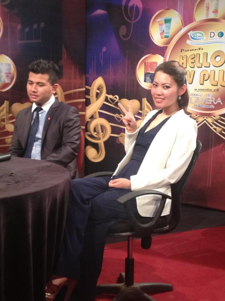 Durga and Diip Rana (Project United) were also interviewed on Hello NTV PLUS