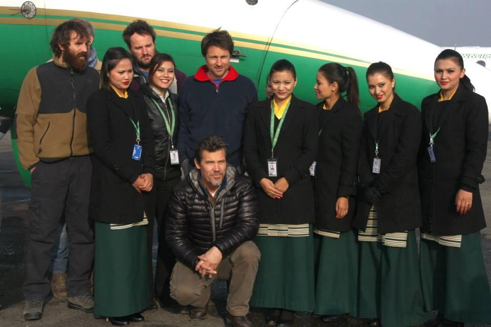EVEREST Film Crew Take Off For Lukla with Tara Air!   Lexlimbu