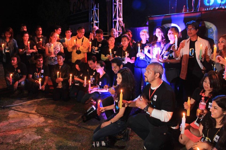 Earth Hour Nepal 2013 a