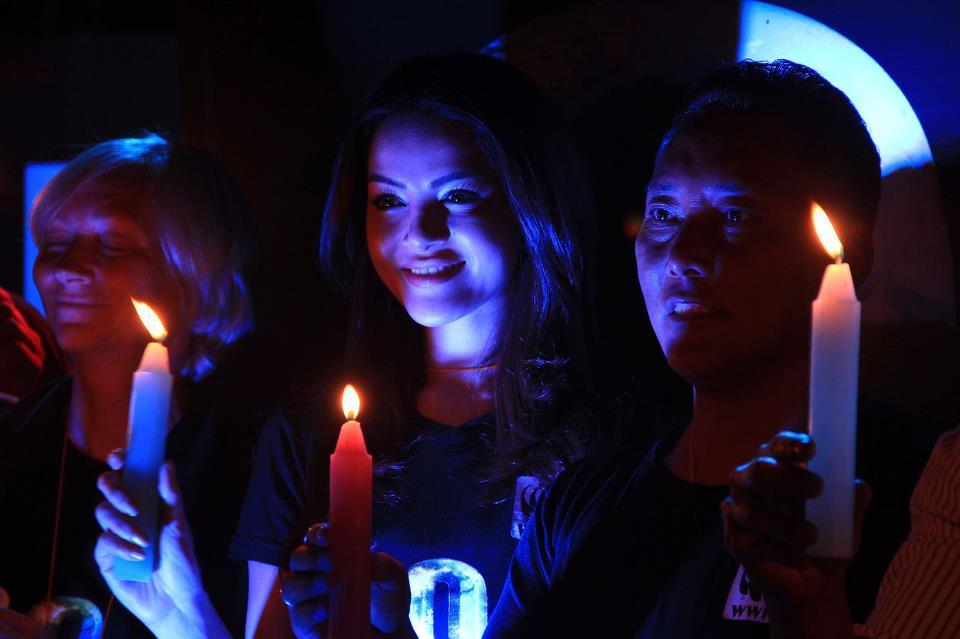 Glowing in the dark, Shristi Shrestha