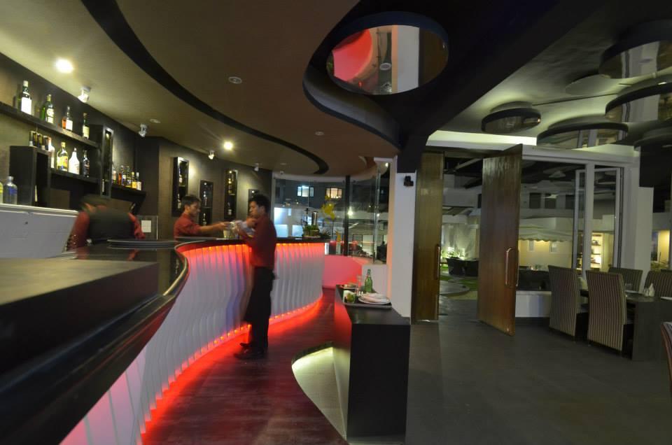 Embers Bar.