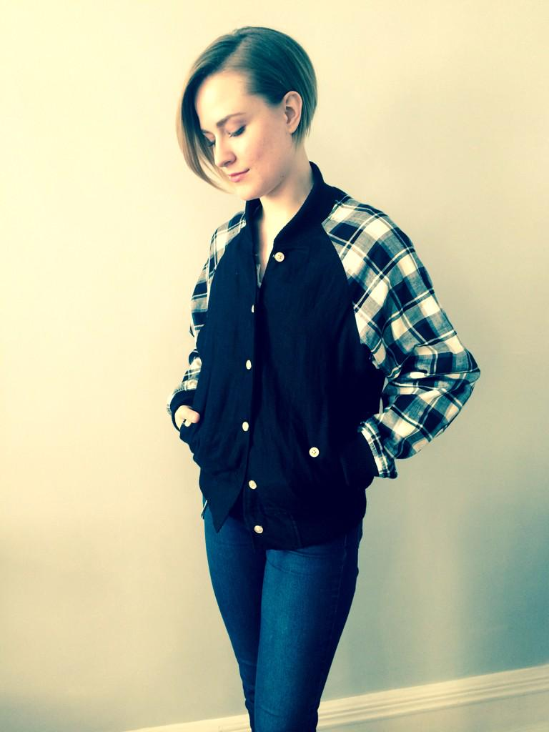Actress Evan Rachel Wood with her Faircloth & Supply Jacket!