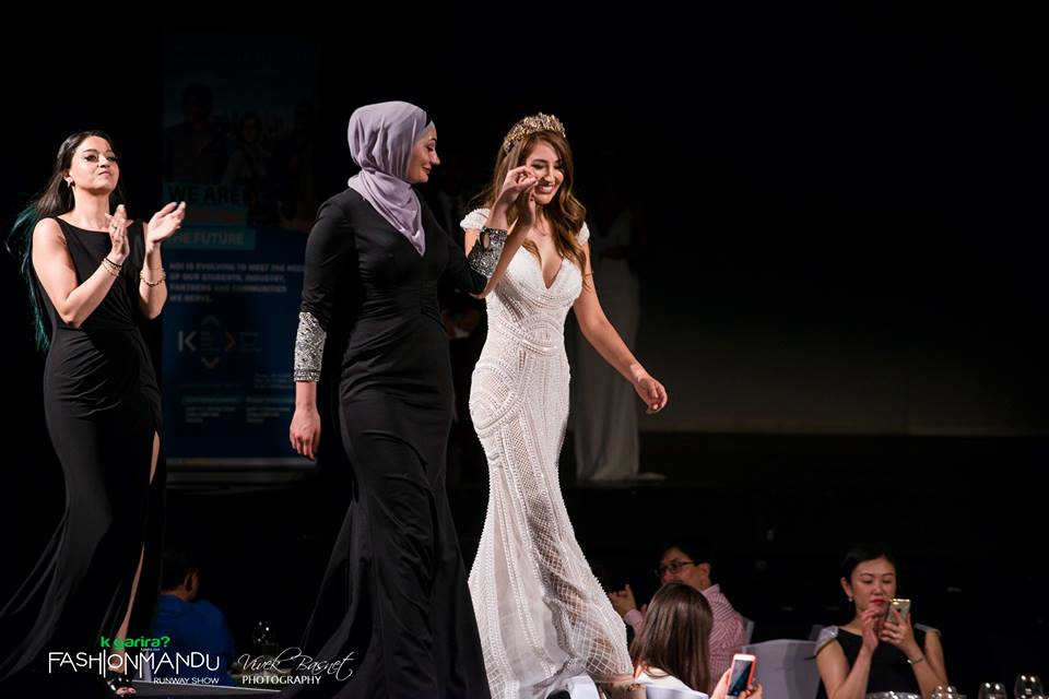 Showstopper Dayanna Grageda with Redccarpet Runway