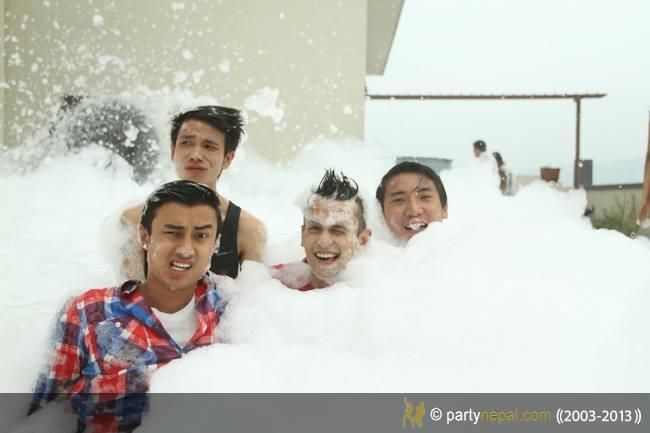Fun Fun Foamy Fun