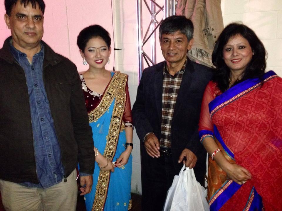 Gaumaya Gurung with the MAHA FAMILY!