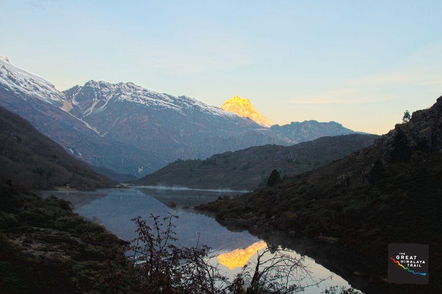 Manaslu section of the Great Himalaya Trail. Photo: Samir Jung Thapa