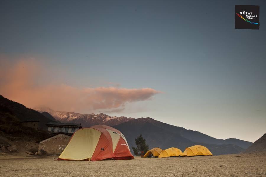 Bigu campsite, Rolwaling.  Photo by: Samir Jung Thapa