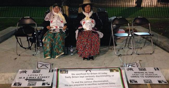 Gurkhas Wives - Gurkha Satyagraha Relay Hunger Strike
