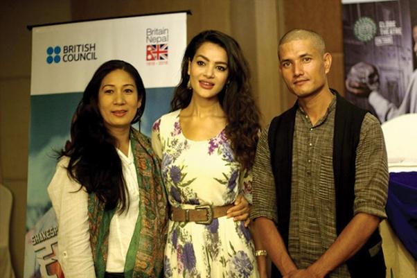 Aruna Karki, Shristi Shrestha and Arpan Thapa