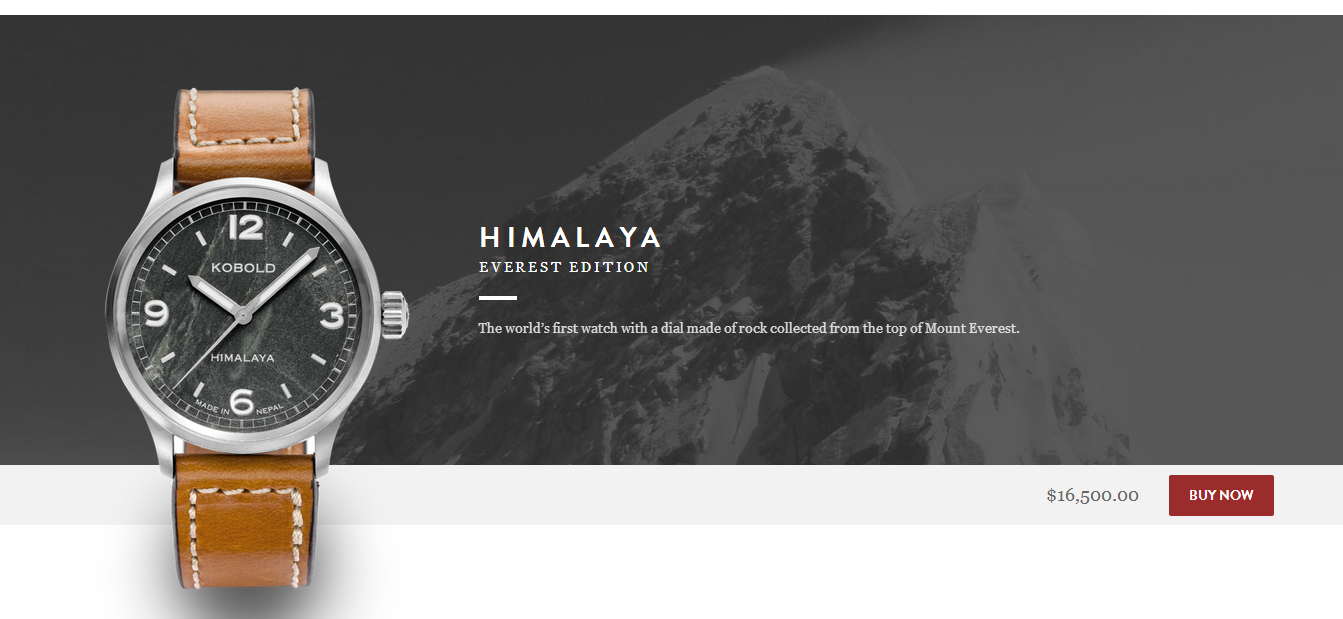 Himalaya Everest Edition - Currently SOLD OUT.