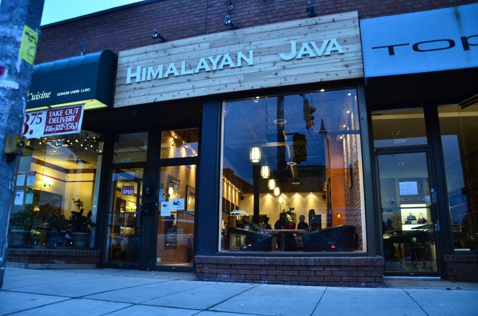 Himalayan Java. Toronto, Canada.