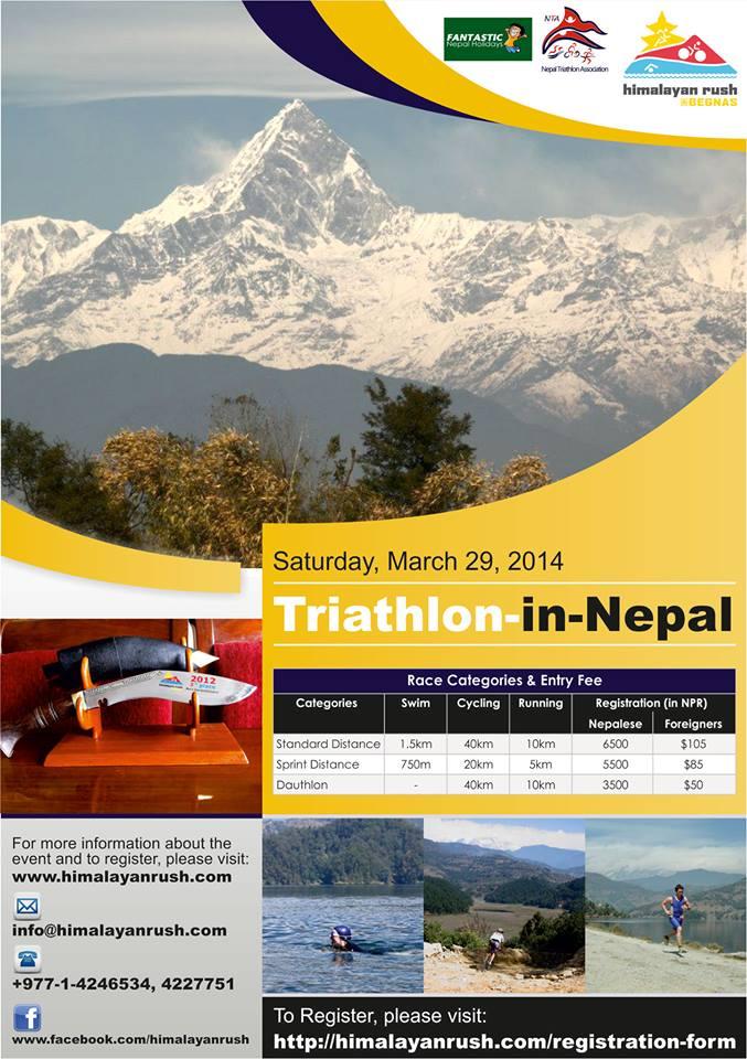 Himalayan Rush Triathlon Nepal