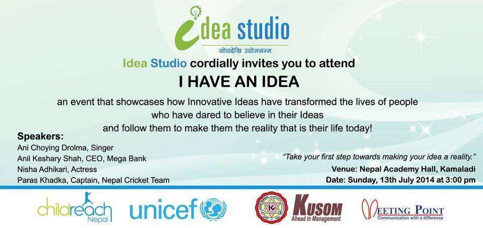 IDEA STUDIO NEPAL 2014