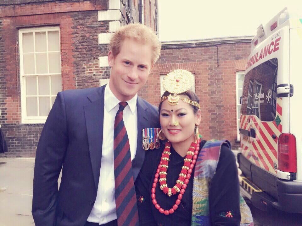Indira-Nembang-Rai-Prince-Harry-Gurkha