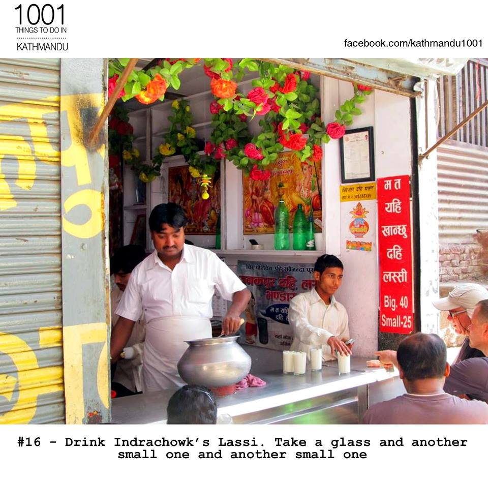 Thanks to Sakil for introducing me to this lassi corner. #unforgettable