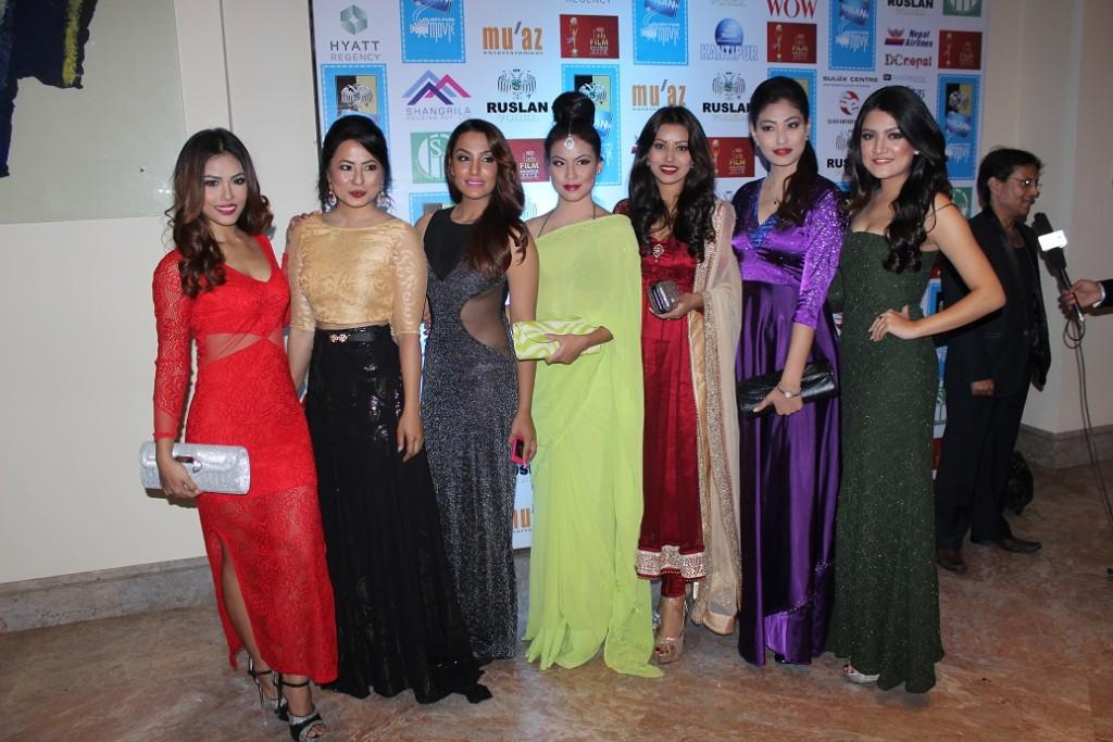 Mala, Malvika, Priyanka, Anupama, Malina, Nagma and Subeksha