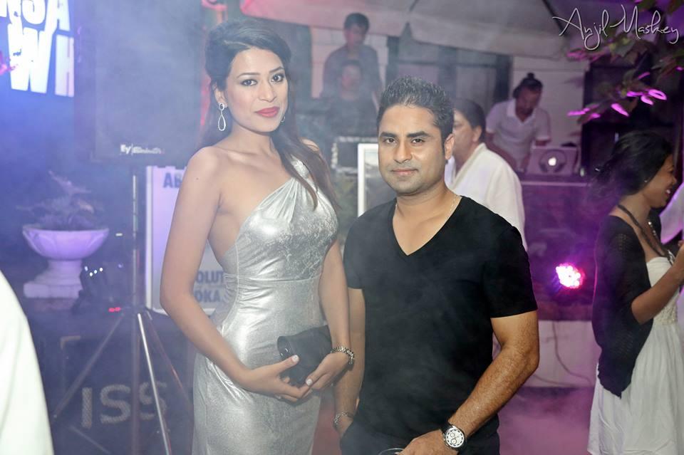 Ishani with Bishwo Gautam